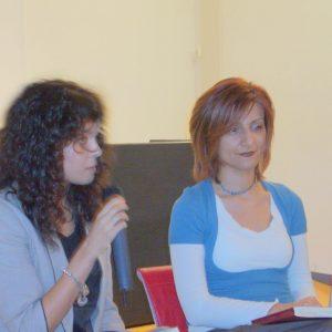 Eleonora Tamburrini e Renata Morresi